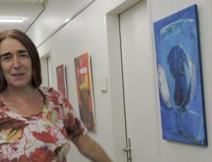 «Am Anfang malte Helena nur Gesichter» (Veronika Kisling führt durch die Ausstellung)