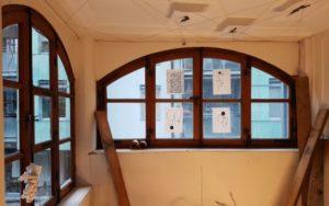 Installation im Schreibhaus von Joelle Valterio