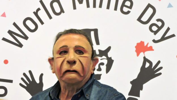Pantomime Yoram Boker an der World Mime Conference 2018